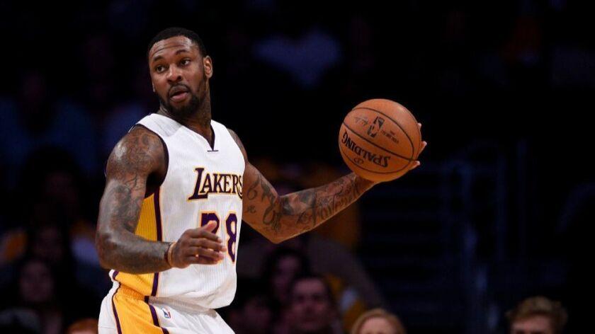 Tarik Black's defense wins him a spot in the Lakers' starting lineup