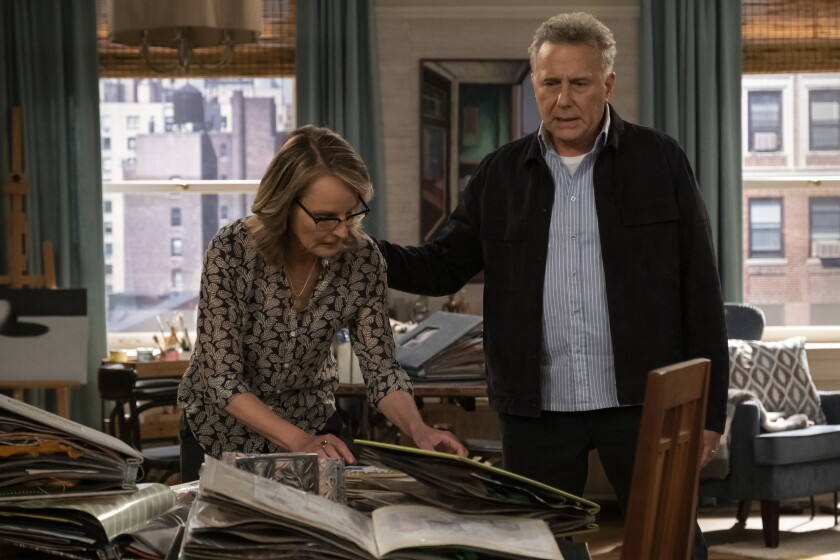 "Helen Hunt and Paul Reiser in the revival of ""Mad About You"""