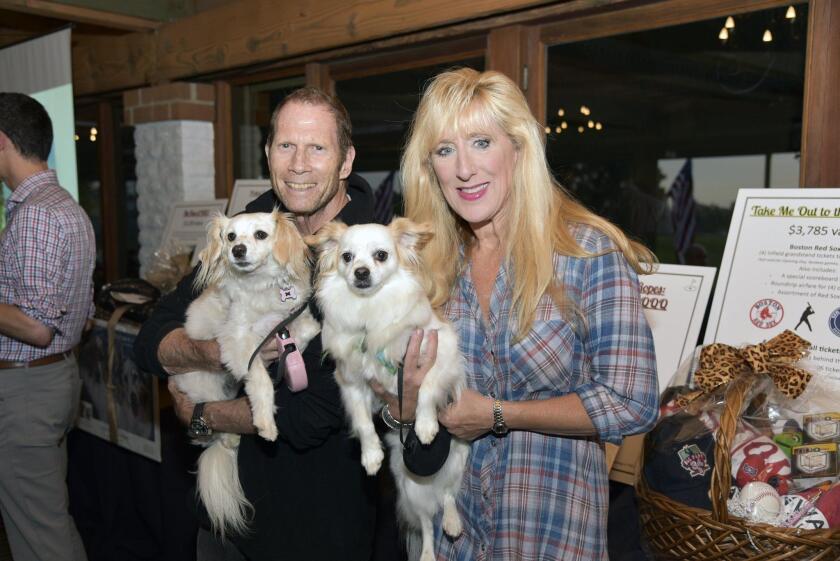 Jim and Sarah Sleeper with Mini and Max