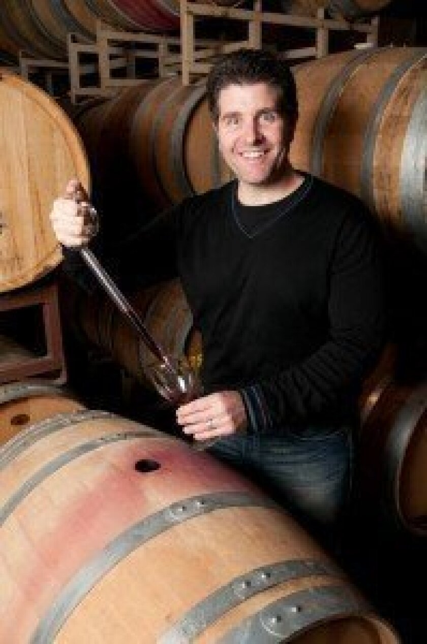 Rancho Santa Fe's Tim Bacino (above) is continuing 150 years of his family's winemaking tradition (below) in California with Gen 7 Wines. Courtesy photo