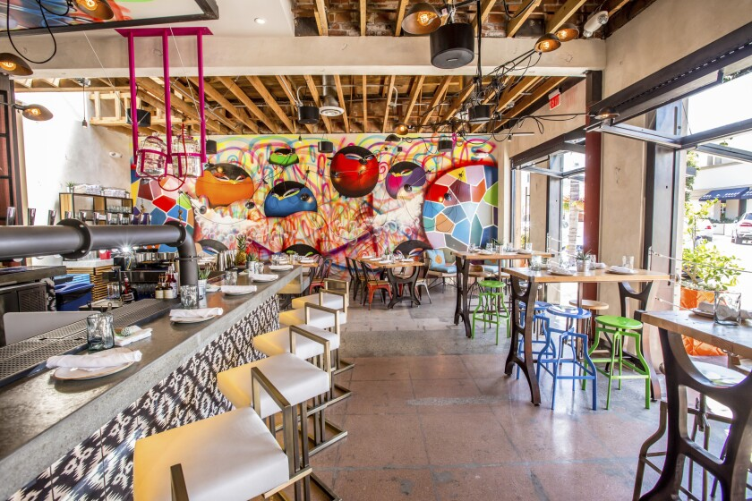 Puesto's tacos are creative, the scene a kick, and the guac and the 'Ritas are among the best in town.