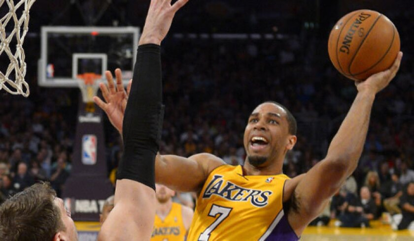 Xavier Henry is averaging 10.1 points this season.