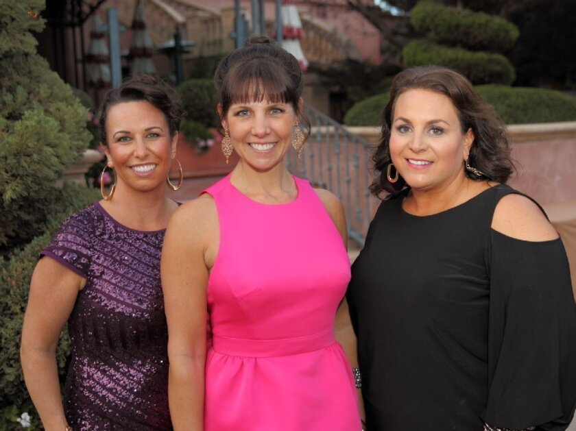 ROMP Executive Committee members Leslie Mannes, Carrie Campbell, Jamie Straza. Not pictured: Fernanda Whitworth.
