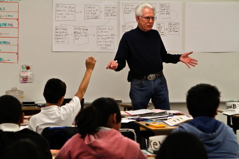 Pacoima teacher John Smith