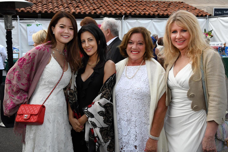 Marina Vileysane, Raha Sheik, Patti Gethin, Wendy Cordell