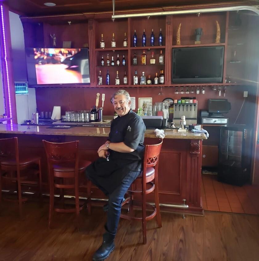 Saffrono owner Amir Savoji