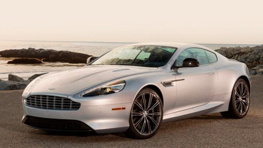 The 2014 Aston Martin DB9 is only one of the many vehicles available at Aston Martin San Diego. (Courtesy Photo)