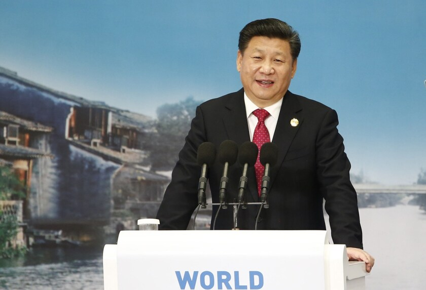 Chinese President Xi Jinping visited 14 countries in 2015.