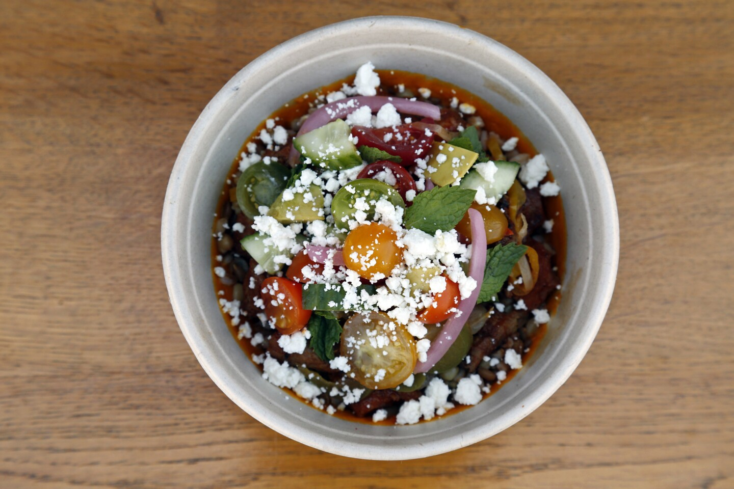 Four chefs offer grain bowls and an 'ugly fruit drank' at Pico House food truck