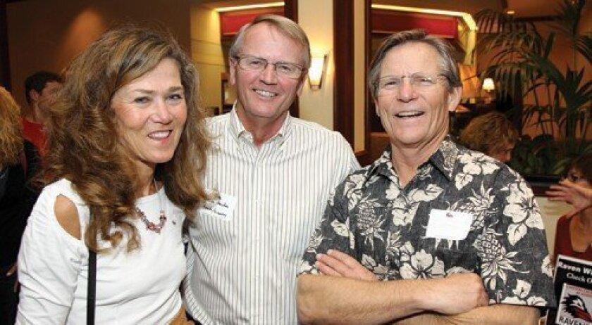 Susie Morris, Chuck Hayden, Scott Morris