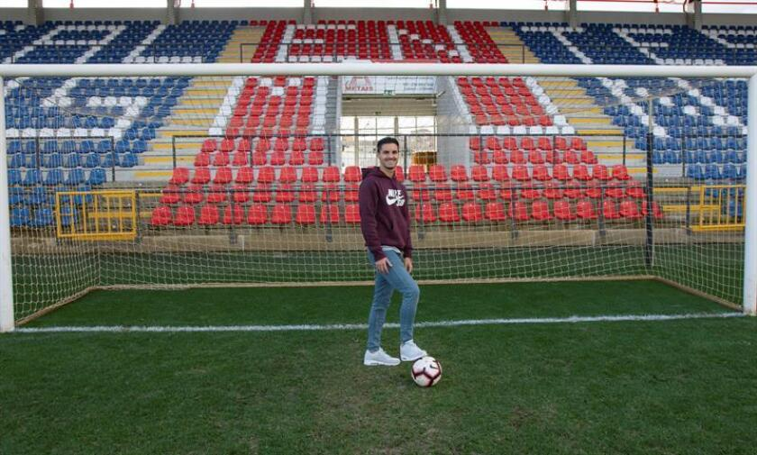 El mediocentro portugués Stephen Eustáquio llegó este lunes a Ciudad de México para someterse a exámenes médicos como paso previo para cerrar su incorporación al Cruz Azul, que disputa el torneo Clausura. EFE/Archivo
