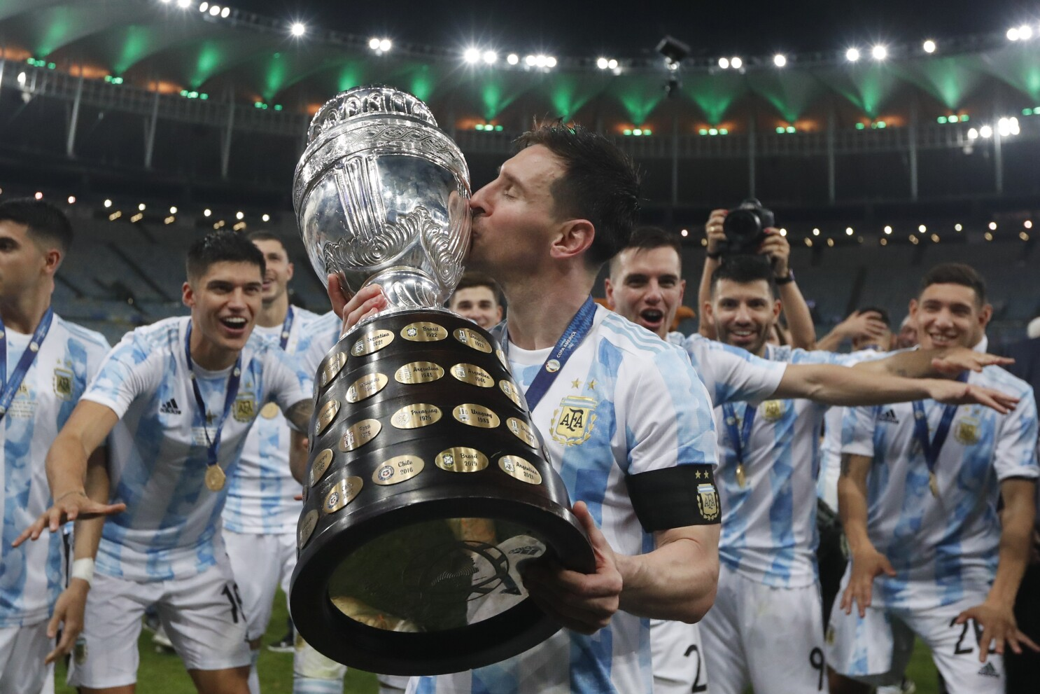 Lionel Messi's Argentina beats Brazil for Copa America title - Los Angeles  Times