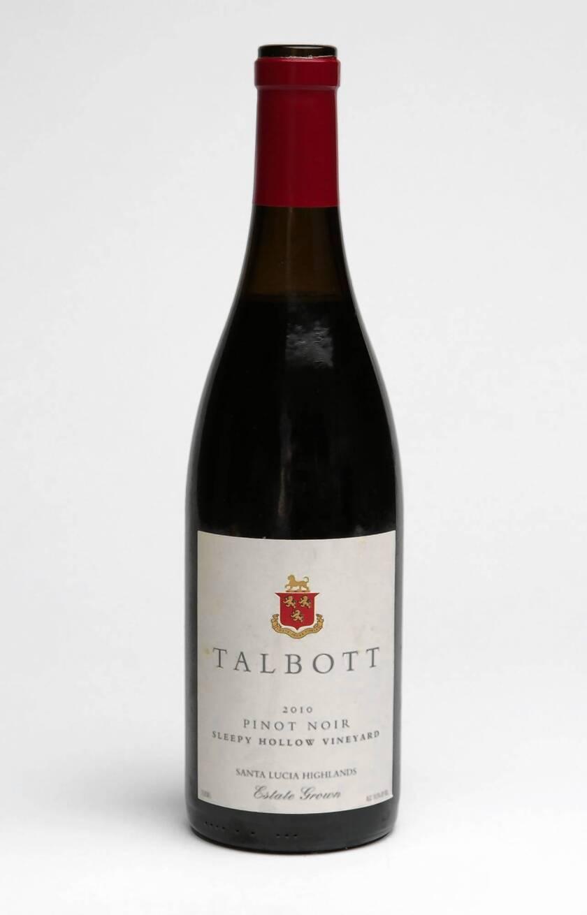 Wine of the Week: 2010 Talbott Pinot Noir 'Sleepy Hollow Vineyard'