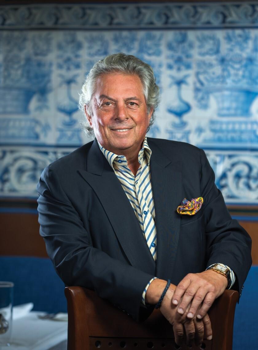Mille Fleurs owner Bertrand Hug