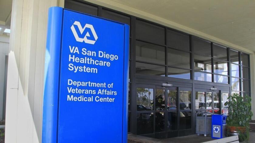 San Diego VA hospital in La Jolla