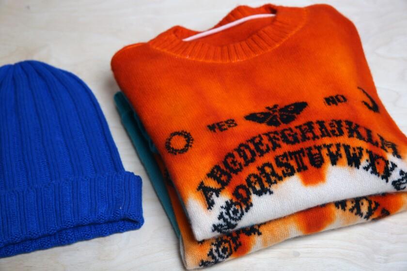 Elder Statesman sweaters
