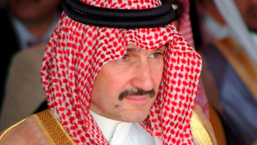 Prince Alwaleed bin Talal is one of the Middle East's richest people, with investments in Twitter, Apple, Rupert Murdoch's News Corp., and more.