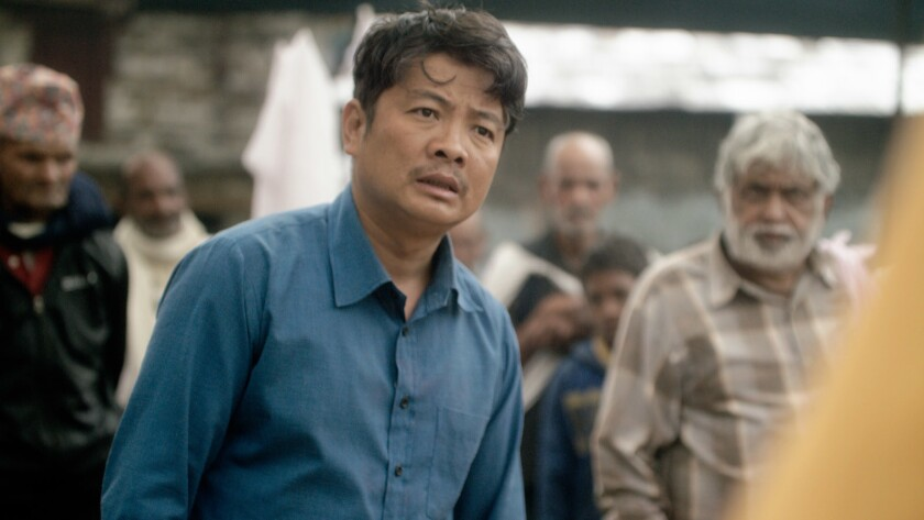 "Dayahang Rai in ""White Sun"" movie."