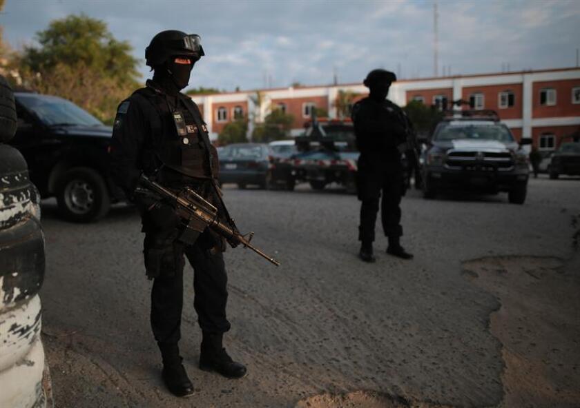 El 75,9 % de los mexicanos consideran que vivir en su ciudad es inseguro, de acuerdo con la Encuesta Nacional de Seguridad Pública Urbana publicada hoy. EFE/Archivo