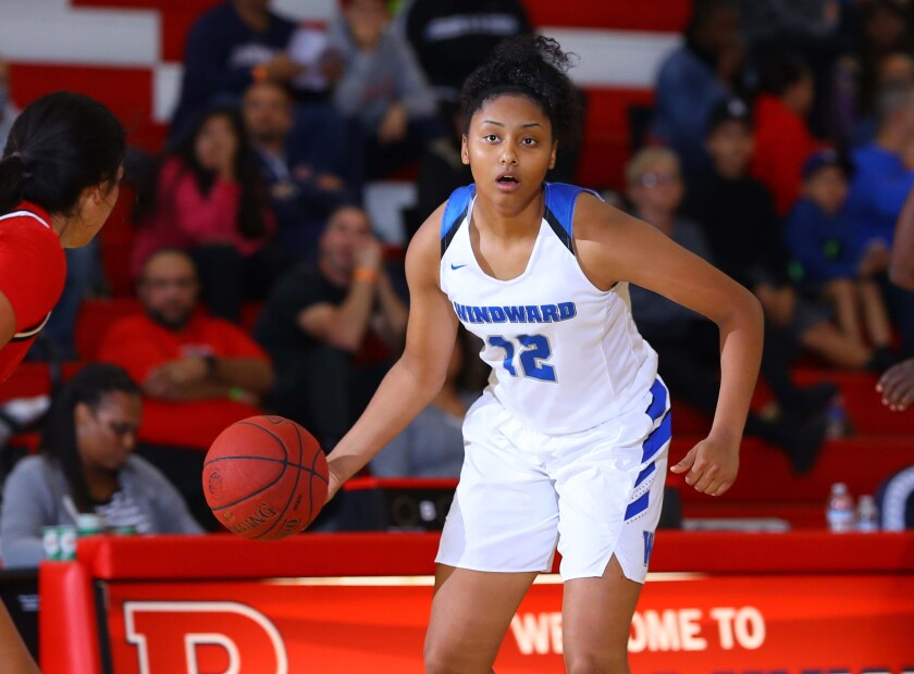 Freshman Juju Watkins of Windward is the latest top girls' basketball player for the Wildcats.
