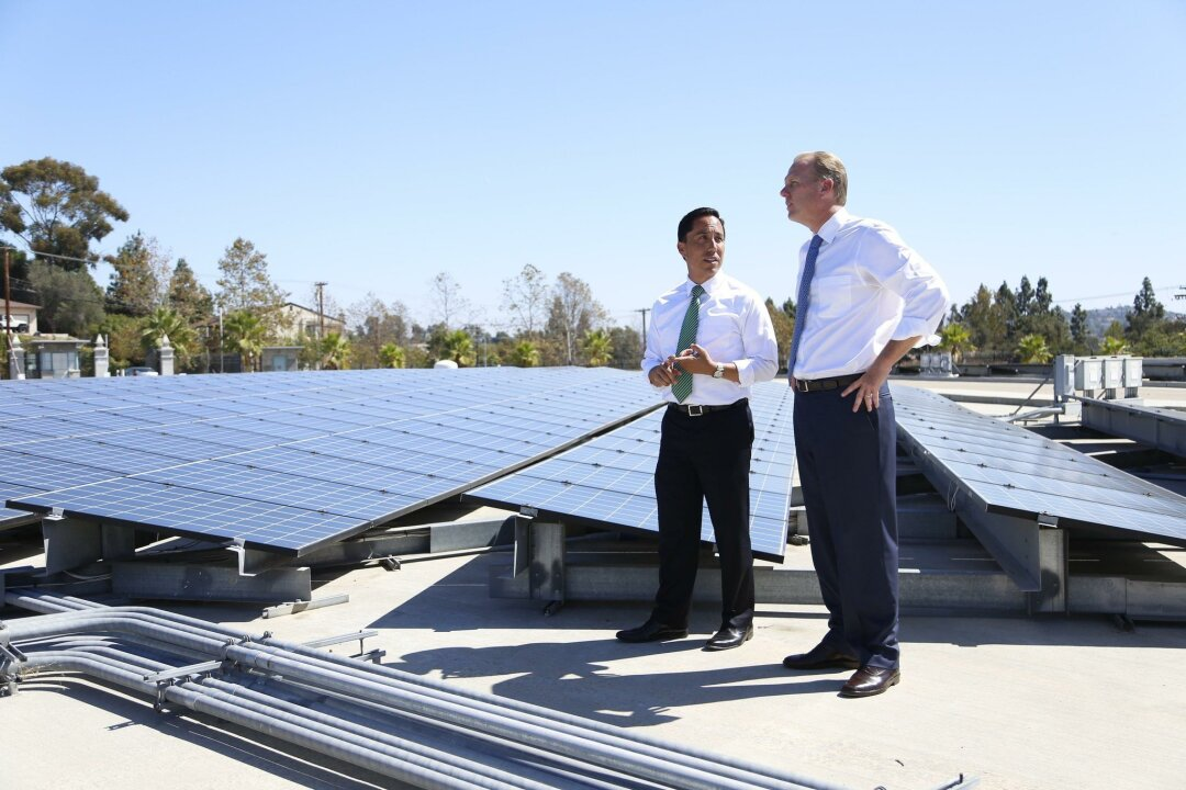 Mayor Kevin Faulconer released his Climate Action Plan in September to create green jobs and significantly reduce greenhouse gases.