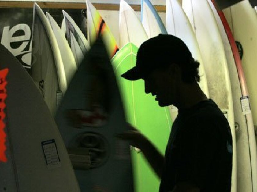While many surfers consider themselves environmentalists, in tune with Mother Nature, surfboards are decidedly not eco-friendly.