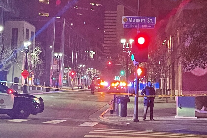 Police investigating after man fatally shot in downtown San Diego