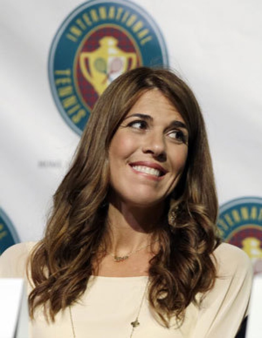 Jennifer Capriati, shown here being inducted into the International Tennis Hall of Fame last year, won't have to face charges stemming from a 2013 confrontation with an ex-boyfriend.