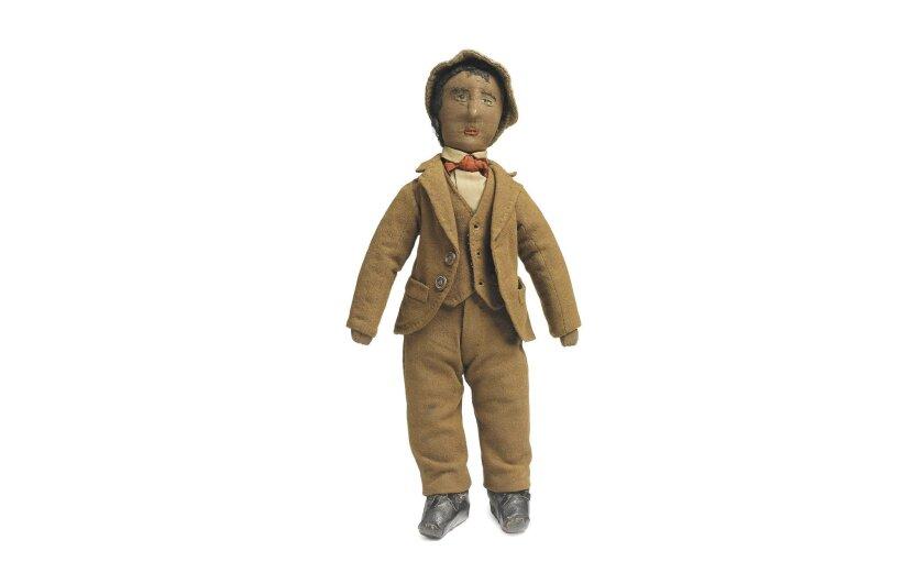"""Man in Brown Three Piece Suit"""