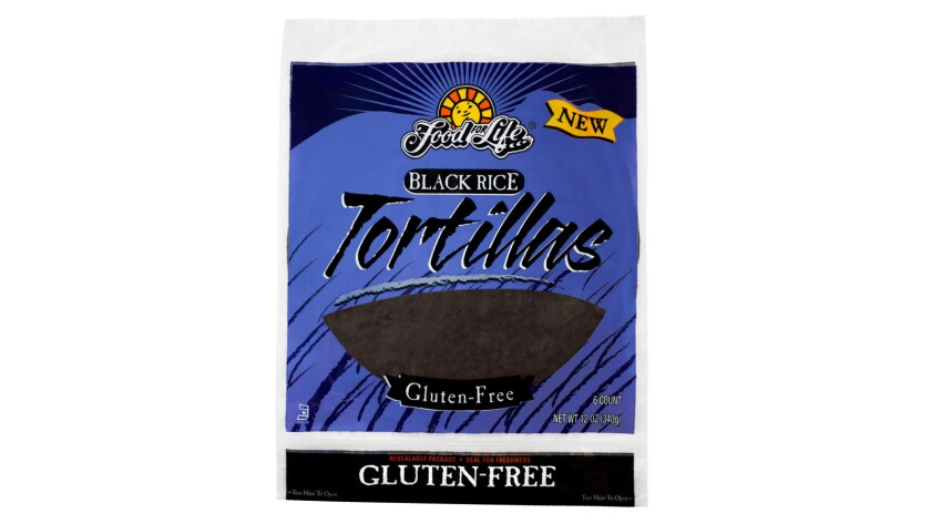 The purple in the tortilla comes from high-mineral soil.