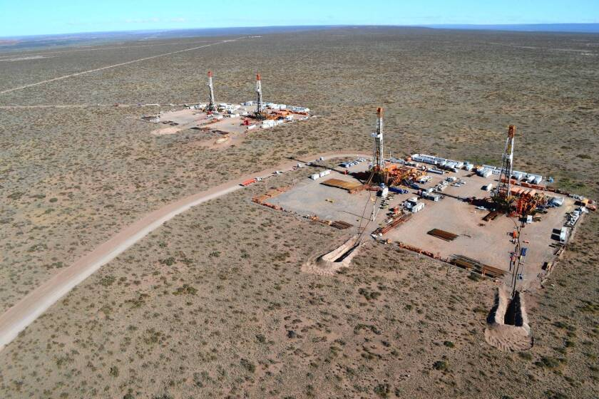 State oil company YPF's Vaca Muerta complex in southwestern Argentina.