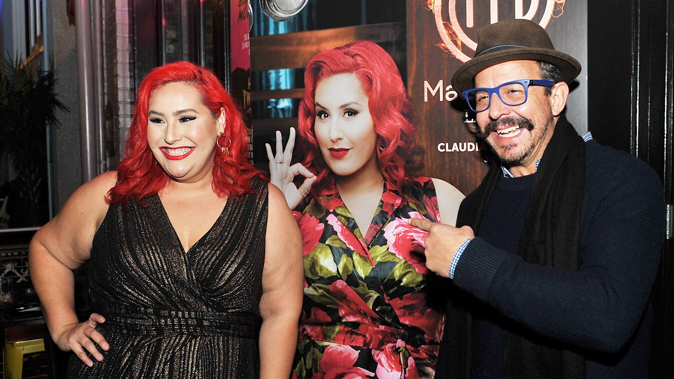 Fans and foodies gathered to toast (and meet celebrity chef Claudia Sandoval) at the MasterChef Latino Premiere Watch Party at El Chingon on Sunday, Jan. 14, 2018.