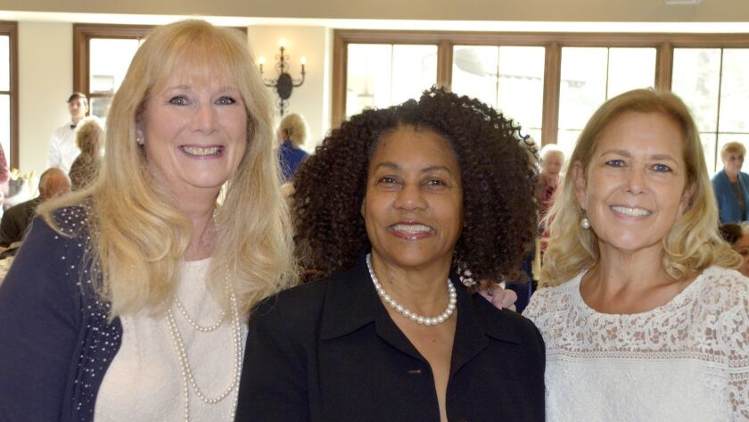 Among those who made the 2019 Spring Social possible were Nancy Wiggins, from left, Glenda Jones, an