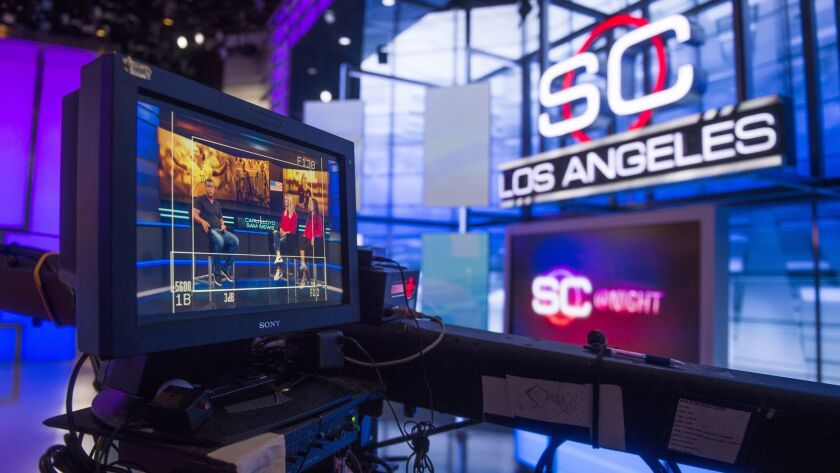 Disney, which owns ESPN, is looking to buy Fox's regional sports networks.