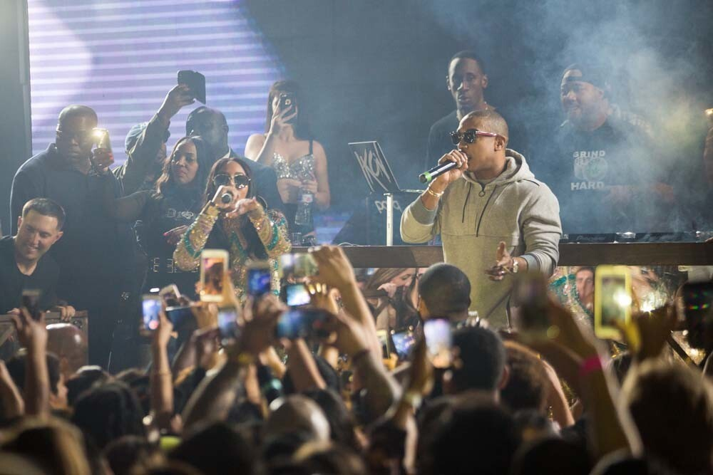 Following their sold-out show at the Observatory North Park, fans gathered for the Ja Rule and Ashanti after-party at Parq nightclub on Friday, Feb. 9, 2018.