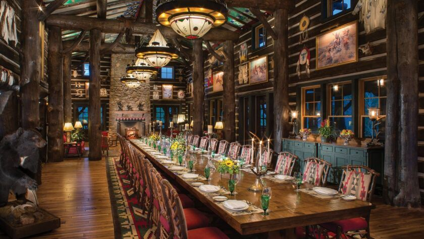Haute cuisine is presented around a 32-seat table with dishes reflecting the Golden Age of the 1920s