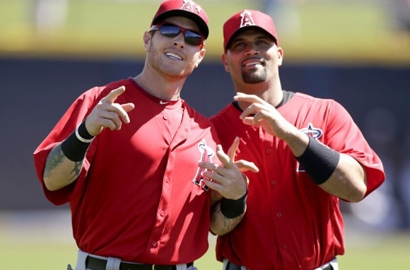 Last spring training, things were looking up for the Angels with sluggers Josh Hamilton and Albert Pujols in camp. This spring, the two will try to rebound from subpar seasons.