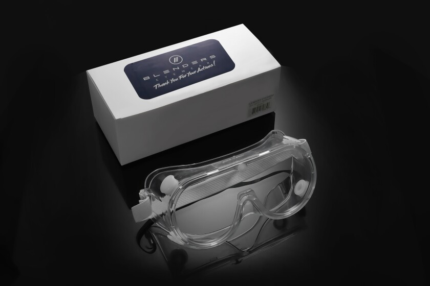 Blenders is making medical-grade eyewear for hospital staffers.