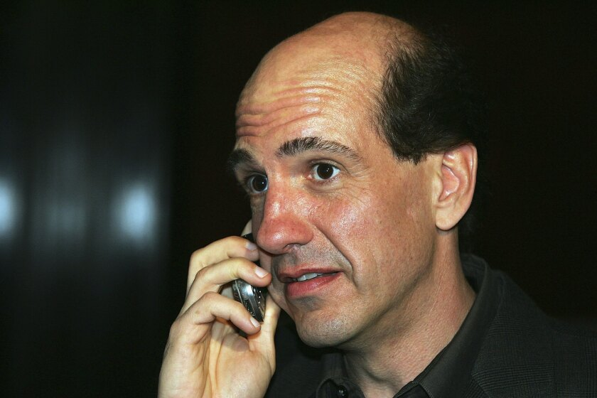 "Sam Lloyd arrives at a Season 5 wrap party for ""Scrubs"" in 2006 in Las Vegas."