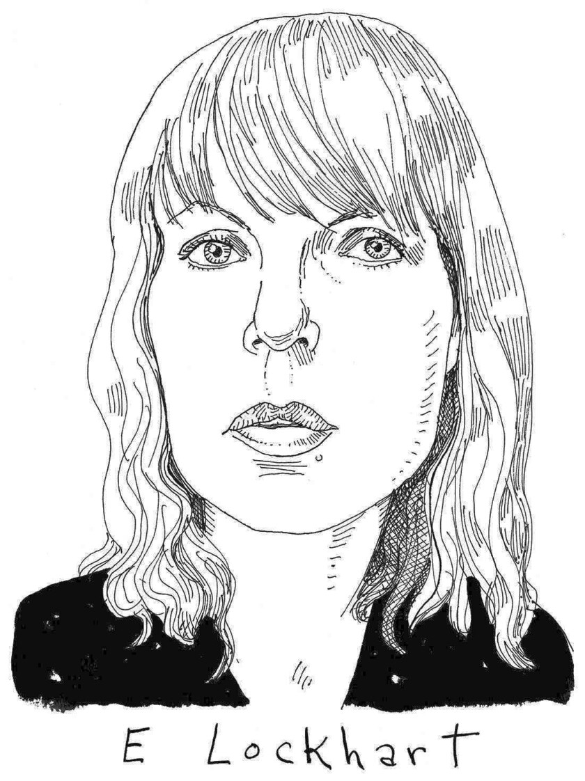 Illustration of author E. Lockhart.