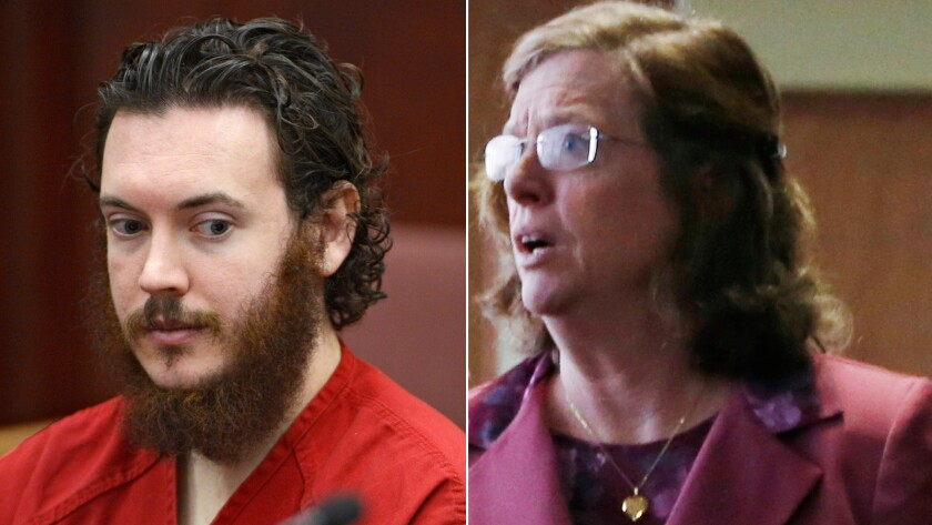 Aurora, Colo., theater shooter James Holmes and his mother, Arlene Holmes.