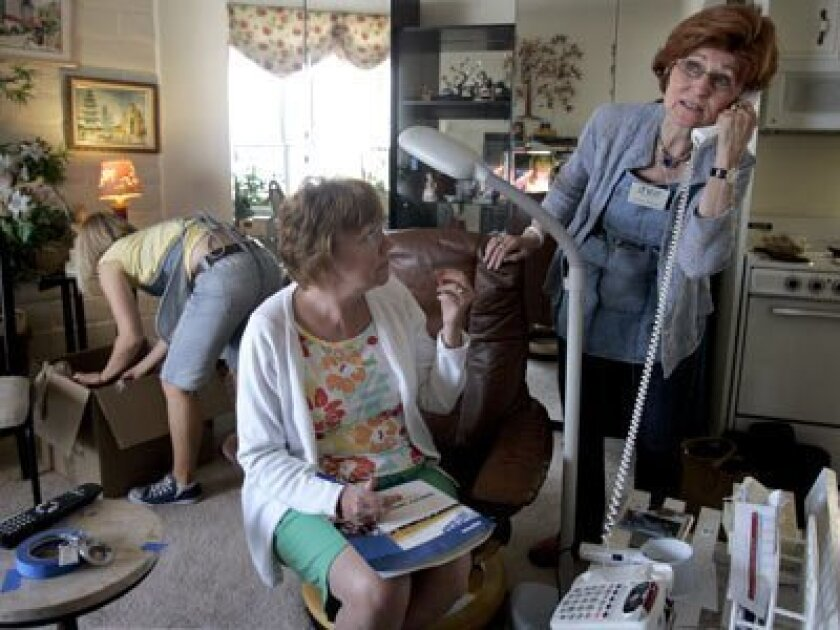 Seniors need help when they have to move,‰ said Linda Diller, who founded Only the Best senior move management in Encinitas five years ago.