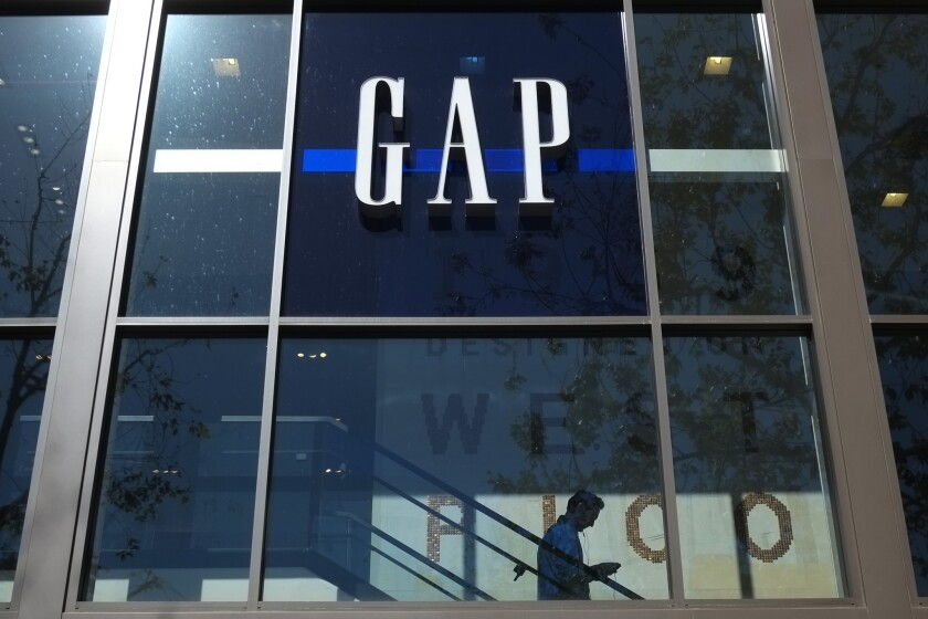 A Gap store in Los Angeles.
