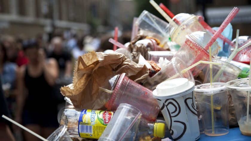 Americans are said to use and discard millions of plastic straws every single day, with many straws ending up in our oceans.