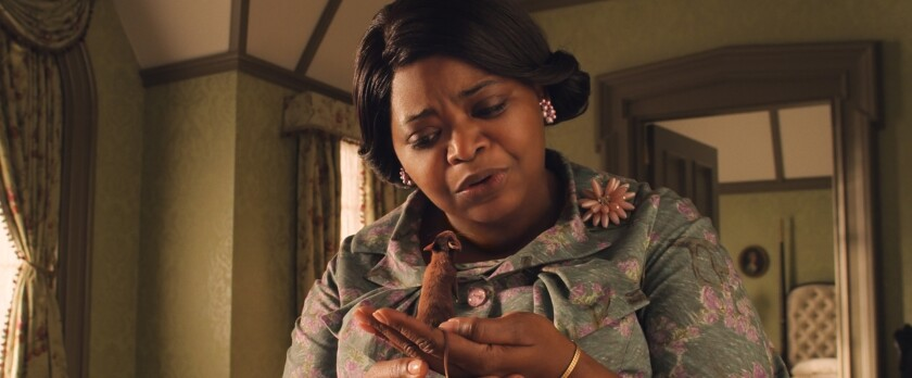"""This image released by Warner Bros. Entertainment shows Octavia Spencer in a scene from """"The Witches."""" (Warner Bros. Entertainment via AP)"""