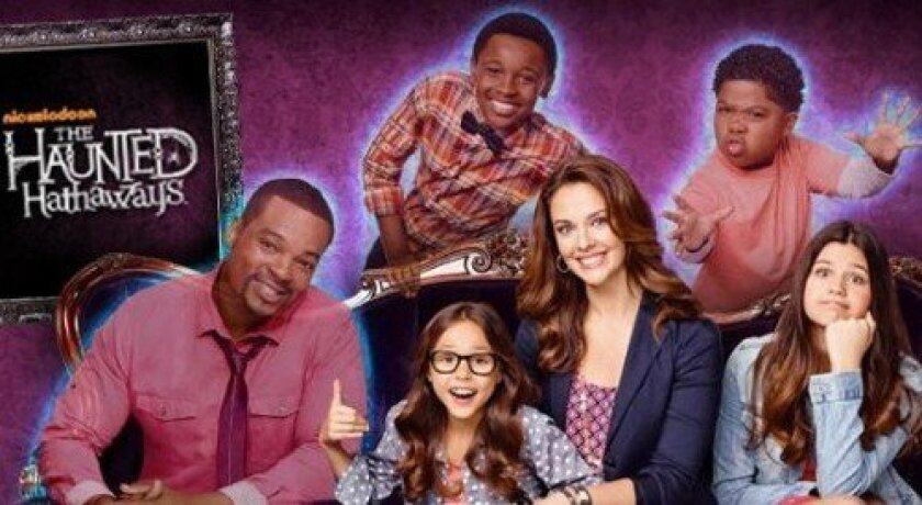 "The cast from ""The Haunted Hathaways."" (Courtesy photo)"