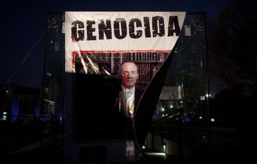 Calderon's war on drug cartels: A legacy of blood and tragedy