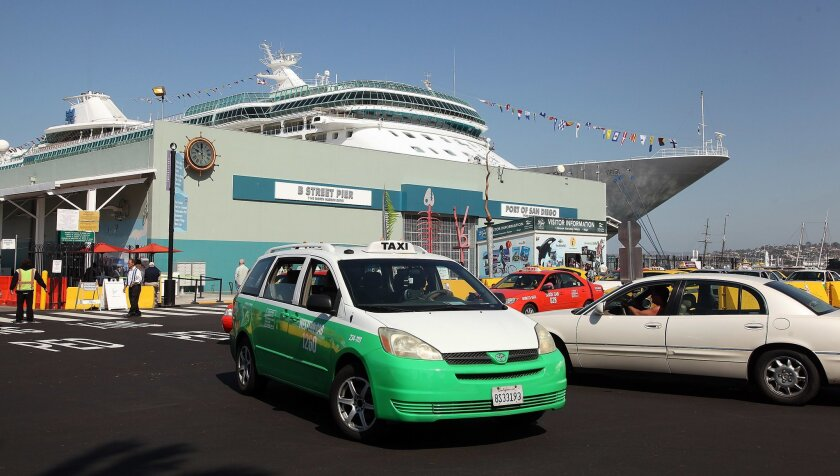 The Royal Carribean Cruise Line's Legend of the Seas was one of two cruise ships that docked in San Diego this week with passengers complaining of gastrointestinal illnesses.