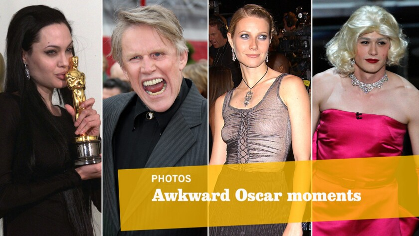 Awkward Oscar moments