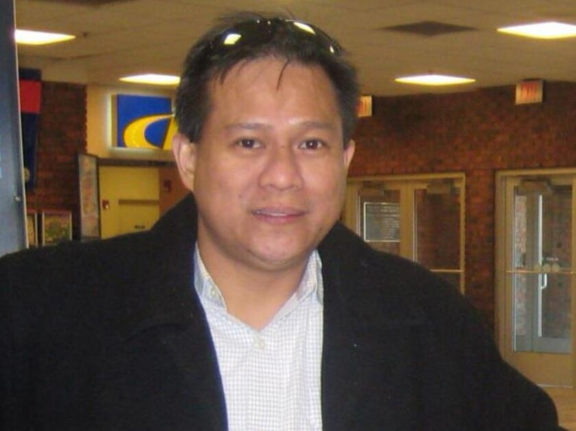 Dr. Dante Acebo Cubangbang is one of five doctors who allegedly sold more than six million painkiller pills out of his Queens office.